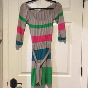 Color blocked dress. Never worn.